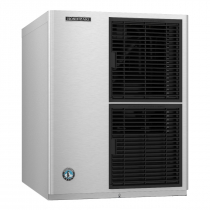 "Hoshizaki KM-350MAJ 22"" Air-Cooled KM Edge Crescent Cube Style ENERGY STAR Ice Machine 489 LB Per Day, 115 Volts"