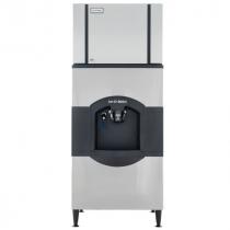 "Ice-O-Matic CIM0636HA/CD40030 600 LB 30"" Air-Cooled Ice Machine w/ CD40030 Hotel Dispenser"