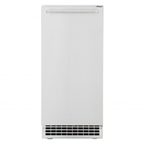"Ice-O-Matic GEMU090 14 7/8"" Air Cooled Undercounter Nugget Cube Ice Machine with 22 lb. Bin - 85 lb."