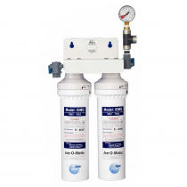 Ice-O-Matic IFQ2 Twin Combination Water Filter Cartridge Assembly System