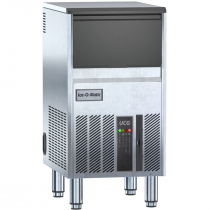 "Ice-O-Matic UCG060A 15 1/4"" Wide 69 lb Per Day Gourmet Cube-Style Undercounter Air-Cooled R290A Hydrocarbon Ice Machine With Built-In 17 1/2 lb Bin, 115V"