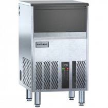 "Ice-O-Matic UCG080A 18 1/4"" Wide 99 lb Per Day Gourmet Cube-Style Undercounter Air-Cooled R290A Hydrocarbon Ice Machine With Built-In 33 lb Bin, 115V"