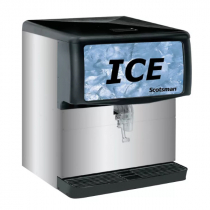Scotsman ID200B-1 Modular Countertop Ice Dispenser - 200 lb.