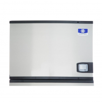 "Manitowoc IYT0450A Indigo NXT Series 30"" Air Cooled Half Size Cube Ice Machine - 115V, 490 lb."