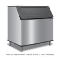 Manitowoc K00471 Adaptor and Ice Deflector