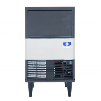 "Manitowoc UDE0065A 19-11/16"" Air Cooled Undercounter Full Size Cube Ice Machine with 31 lb. Bin - 57 lb."