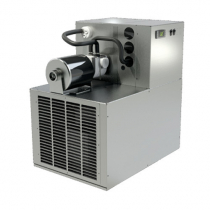 """Perlick 4414-2 24-1/4"""" Century Series Air-Cooled Draft Beer System Power Pak With 2 Pumps For Copper Coolant Lines, 120 Volts 3/4 HP"""