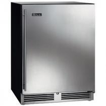 """Perlick HB24FSLP_SSSDC 24"""" Low Profile ADA Compliant Undercounter Freezer, Solid Stainless Steel Door"""