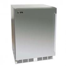 "Perlick HD24RS_SSSD 18"" Shallow Depth Series Undercounter Refrigerator, Solid Stainless Steel Door"