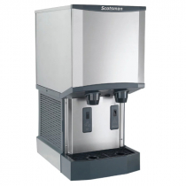 Scotsman HID312A-1 260 LB Meridian Air-Cooled Nugget Ice Machine Dispenser with Water Dispenser