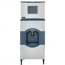 Scotsman C0630SR-HD30B - 684 LB Half Size Cube Ice Machine with Hotel Ice Dispenser