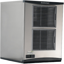 "Scotsman NH0922A-1 Prodigy Plus 22"" Wide Hard H2 Nugget Style Air-Cooled Ice Machine, 952 lb/24 hr Ice Production, 115V 1-Phase"