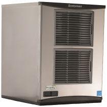 "Scotsman NS0922A-32 Prodigy Plus ENERGY STAR Certified 22"" Wide Soft Original Chewable Nugget Style Air-Cooled Ice Machine, 956 lb/24 hr Ice Production, 208-230V 1-Phase"
