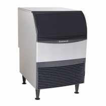 "Scotsman UC2024SA-1 24"" Undercounter Air Cooled Small Cube Ice Machine - 227 lb."