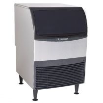Scotsman UN324A-6 370 LB Undercounter Air Cooled Nugget Ice Machine - 230V
