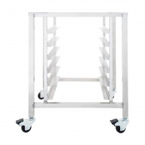 """Moffat SK32 Mobile Stainless Steel Oven Stand with 3"""" Casters"""