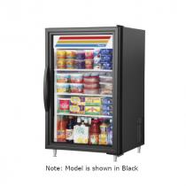 "True GDM-07-HC~TSL01 24 1/8"" White Countertop Refrigerator with Hydrocarbon Refrigerant - 115V"