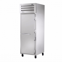 """True STA1R-1S-HC 27.5"""" ENERGY STAR Certified Spec Series Reach-In 1-Section Refrigerator With 1 Solid Door, Aluminum Interior And Chrome Shelves With Hydrocarbon Refrigerant, 115 Volts"""