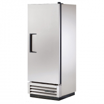 """True T-12-HC 25"""" T Series Reach-In 1-Section Refrigerator With 1 Solid Swing Door With Aluminum Interior And 3 PVC Coated Shelves With Hydrocarbon Refrigerant, 115 Volts"""
