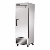 """True TS-23-HC 27"""" TS Series Reach-In 1-Section Refrigerator With 1 Solid Door With Stainless Steel Interior And 3 PVC Coated Shelves With Hydrocarbon Refrigerant, 115 Volts"""