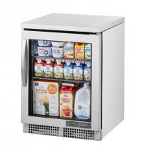 "True TUC-24G-HC~FGD01 24"" Undercounter Glass Door Refrigerator"