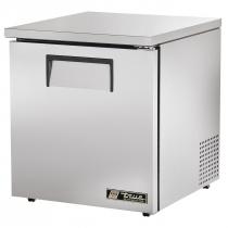 """True TUC-27-LP-HC 27-5/8"""" Wide Solid Door Low Profile Undercounter Refrigerator w/Hydrocarbon Refrigerant"""
