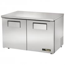"""True TUC-48F-LP-HC 48"""" Two Solid Door Low Profile Undercounter Freezer - 25 cu. ft."""