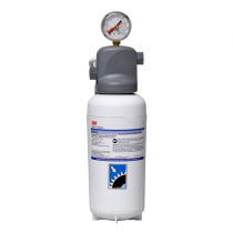 3M ICE145-S Single Cartridge Ice Machine Water Filtration System - 3 Micron Rating and 2.1 GPM