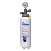 3M ICE165-S Single Cartridge Water Filtration System - 3 Micron Rating and 3.34 GPM