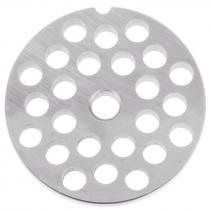"Empura 22P2-3/8 3/8"" Hole Meat Grinder Plate #22"