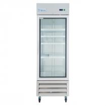 "Empura E-KB27FG 27"" One Section Glass Door Reach In Freezer - 19 cu. ft."