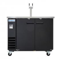 Empura E-KDD2-1 2 Door Direct Draw Beer Dispenser - 10.45 Cu Ft, 1 Tap