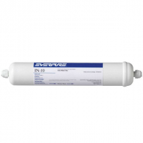 Everpure EV910006 IN-10 In-Line Filter with Fittings .75 GPM