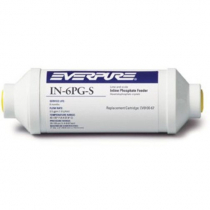 """Everpure EV910067 Phosphate 6"""" In-Line Filter 0.75 GPM Scale Inhibitor System"""