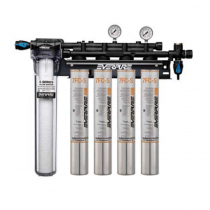 Everpure EV932774 INSURICE Quad 7FC-S Ice Filtration System with Pre-Filter 0.5 Micron and 7.5 GPM