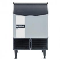 "Ice-O-Matic ICEU220HA 24.54"" Air Cooled Undercounter Half Cube Ice Machine - 238 lb."