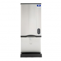 Manitowoc CNF0202AL - 315 LB Air-Cooled Countertop Nugget Ice Machine and Dispenser - Lever Activated