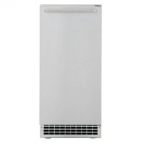 """Scotsman CU50PA-1A 14 7/8"""" Air Cooled Undercounter Gourmet / Full Size Cube Ice Machine with Built-In Pump - 65 lb."""