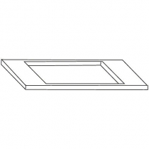 Scotsman KBT54 - Bin Top Adapter Kit for use with Two 30 Inch Ice Machines Side By Side on BH1300 or BH1600 Bin