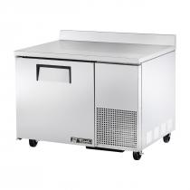 """True TWT-44F 44"""" Wide Solid Door Deep Worktop Freezer"""