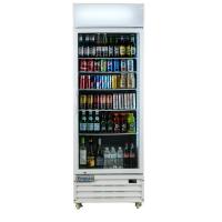 """Empura EGM-23W 27.6"""" White Swing Glass Door Merchandiser Refrigerator With 1 Door, 23 Cubic Ft, 115 Volts"""