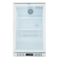 """Empura EGM-7W 21.4"""" White Swing Glass Door Merchandiser Refrigerator With 1 Door, 7 Cubic Ft, 115 Volts"""