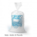 EK-Z-H12PMET Printed Ice Bag 10 LB Capacity