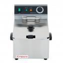 Empura E-DF-6L 12 lb. Commercial Electric Countertop Fryer - 120V, 1750W