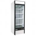 "Empura E-EGM-23FW White 26 4/5"" Wide 1-Section Insulated Triple-Pane Self-Closing Glass Door Freezer Merchandiser, 115V"