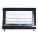 "Empura E-HD-36 36"" Self Service 3 Shelf Countertop Heated Display Warmer with Sliding Doors - 110V, 1500W"