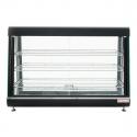 "Empura E-HD-48 48"" Self Service 3 Shelf Countertop Heated Display Warmer with Sliding Doors - 110V, 1500W"