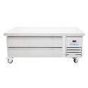 "Empura E-KCBR60 62"" 2 Drawer Self-Contained Refrigerated Chef Base"
