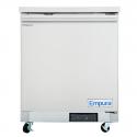 "Empura E-KUC27 27.8"" Stainless Steel Undercounter Refrigerator With 1 Door - 5.4 Cu Ft, 115 Volts"