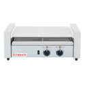 Empura E-RG-09 24 Hot Dog Roller Grill with 9 Rollers - 110V, 750W